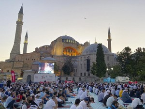 Cerita Sholat Idul Adha Pertama di Hagia Sophia