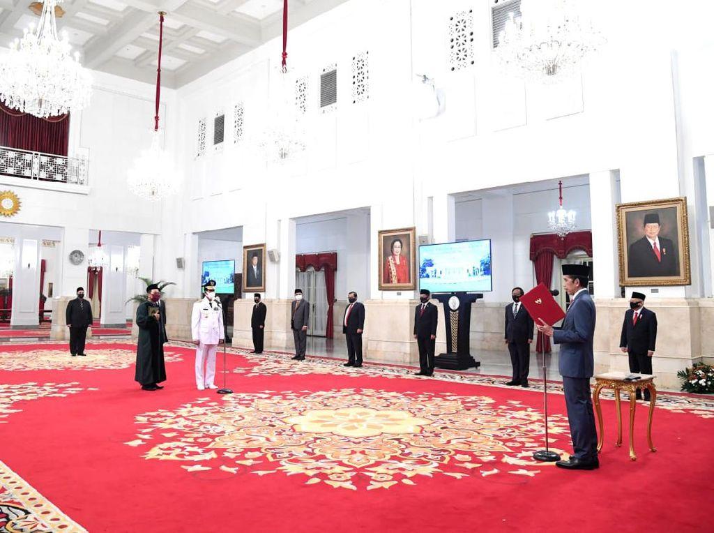Istana Pastikan Pelantikan Gubernur Kepri dengan Protokol Kesehatan Ketat