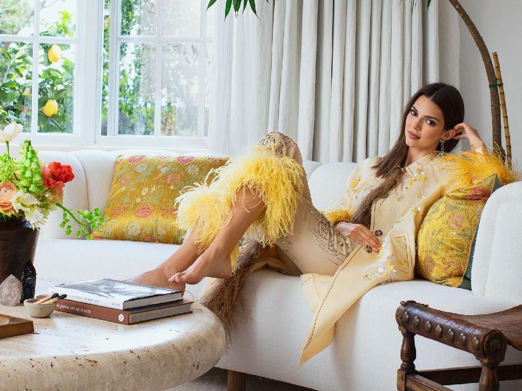 12 Foto Rumah Mewah Kendall Jenner, Ada Bathtub Emas