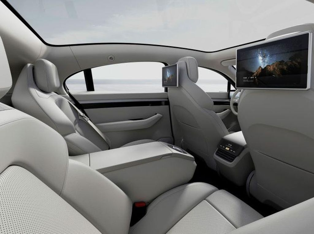 Penampakan Mobil Listrik Pertama Sony yang Siap Lawan Tesla dkk