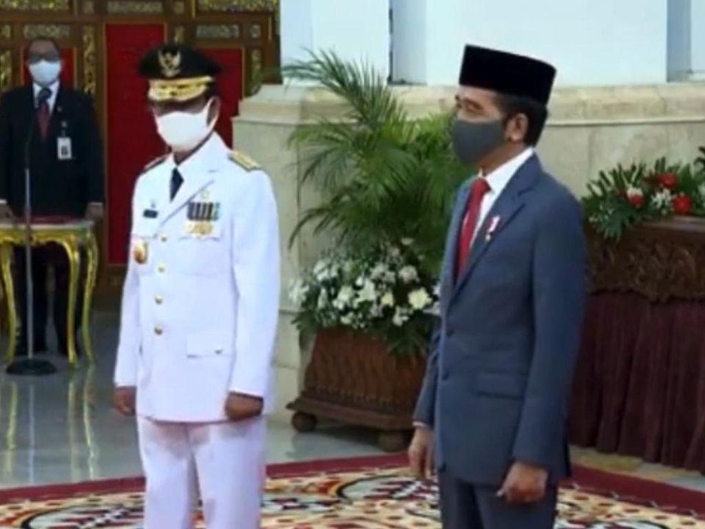 Video Gubernur Baru Kepri Positif COVID-19 Usai Dilantik Jokowi