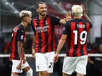 AC Milan Vs Cagliari: Rossoneri Tutup Musim dengan Kemenangan 3-0