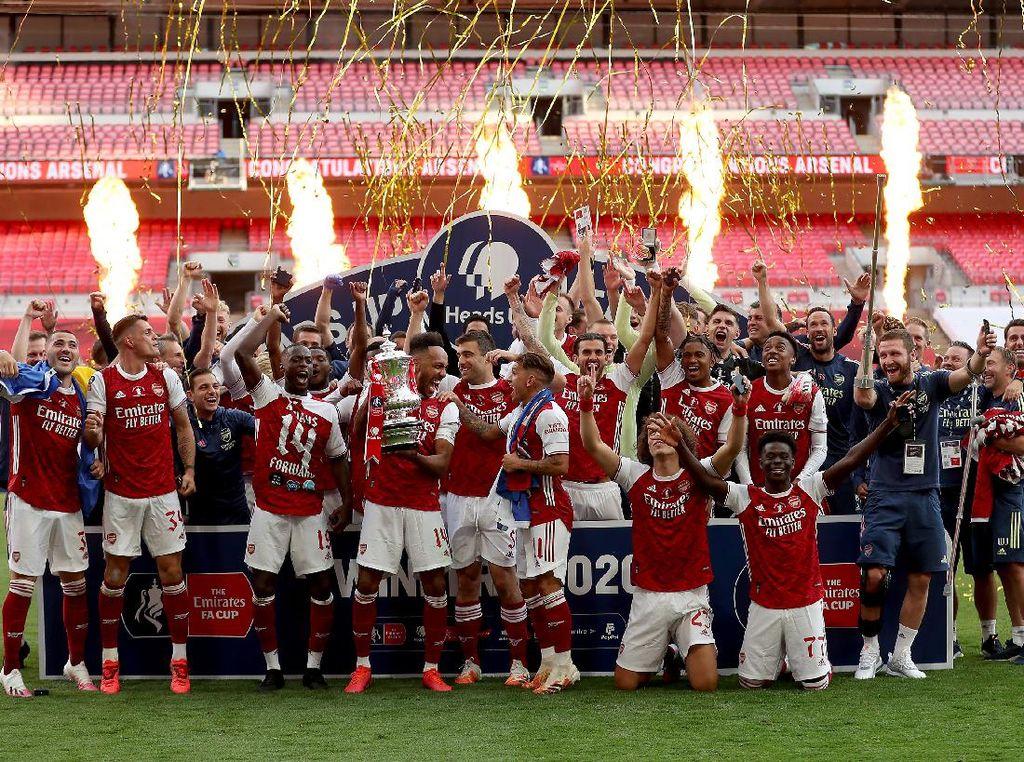 11 Data dan Fakta Kemenangan Arsenal di Final Piala FA