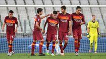 Kalahkan Juve, Roma Coreng Pesta Juara Bianconeri