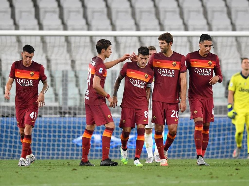 Juventus Vs Roma: Tanpa Ronaldo-Dybala, Bianconeri Takluk 1-3