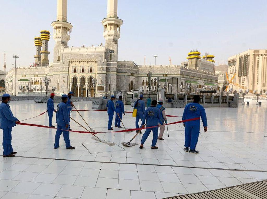 Periode Haji, Masjidil Haram Dibersihkan 10 Kali Sehari