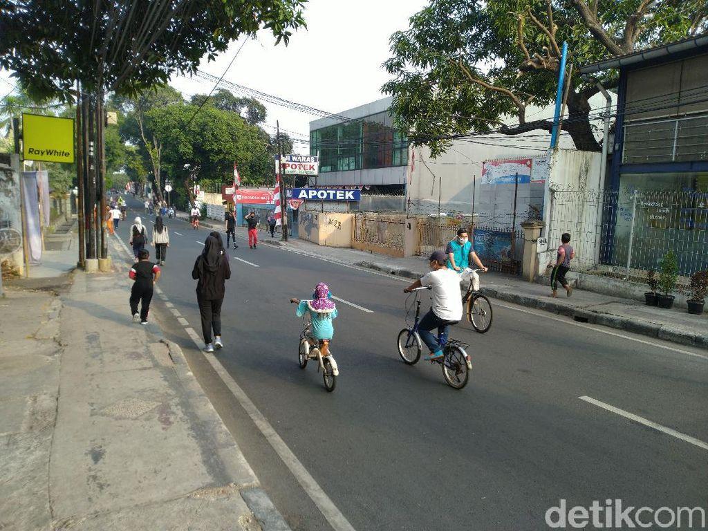 Banyak Anak Ikut CFD di Cipete Raya, Wawalkot Jaksel Akui Kesulitan Melarang