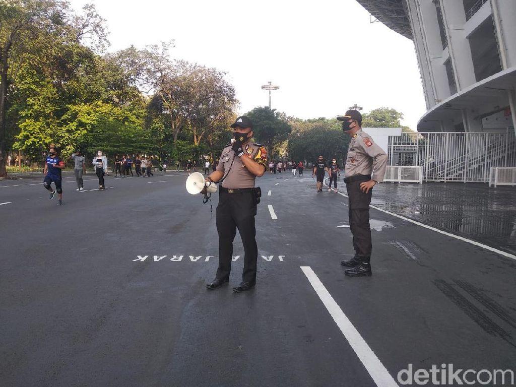 Warga Dilarang Bawa Alat Olahraga di Ring Road GBK, Polisi: Ganggu yang Joging
