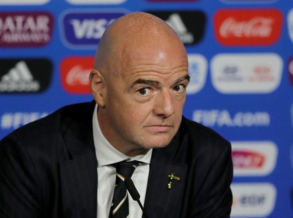 FIFA: Jabatan Infantino Aman Meski Tersangkut Kasus