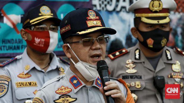 Kepala Dinas Perhubungan DKI Jakarta Syafrin Liputo. CNN Indonesia/Andry Novelino