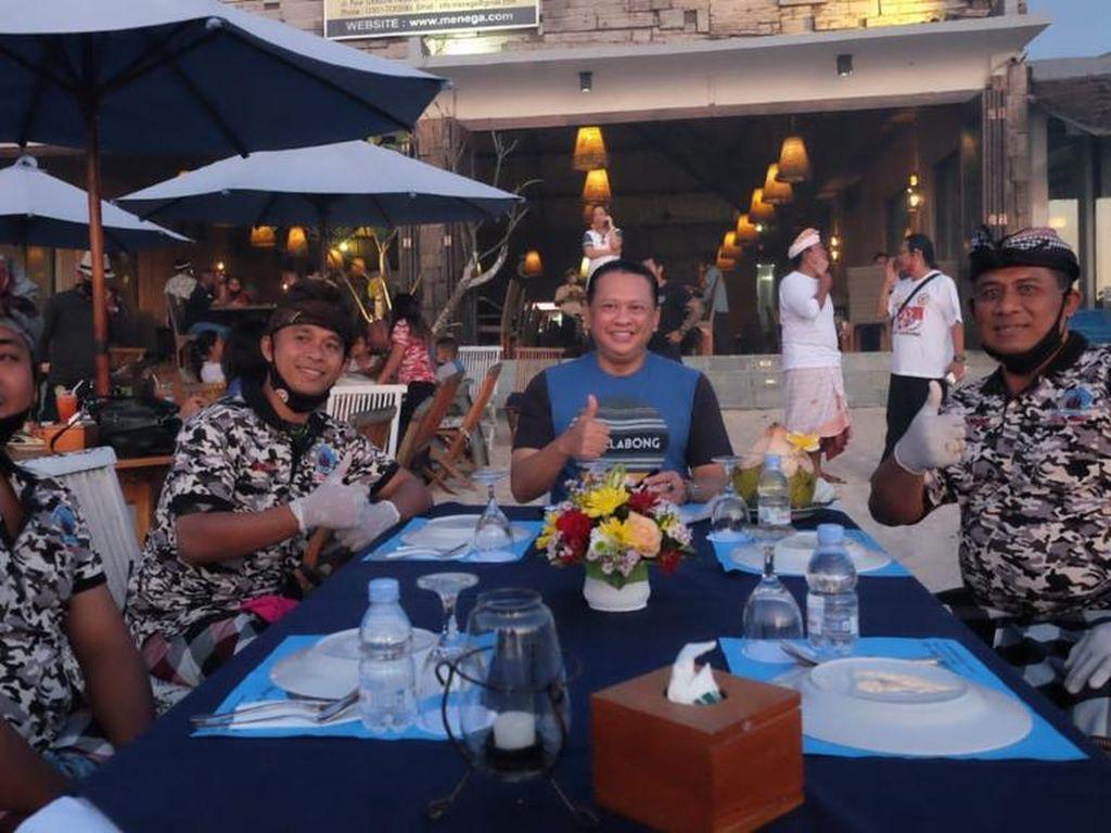 Ketua MPR Apresiasi Kades-Pecalang yang Awasi Protokol Kesehatan di Bali