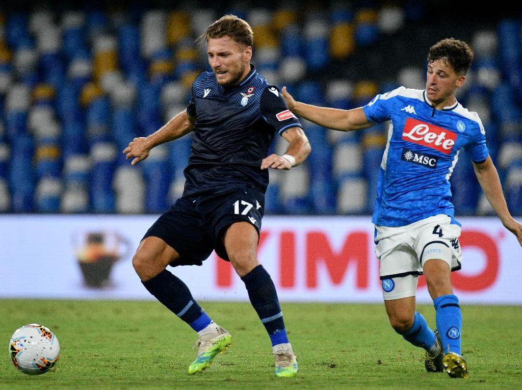 Napoli Vs Lazio: Kalah 1-3, Elang Ibu Kota Finis Keempat