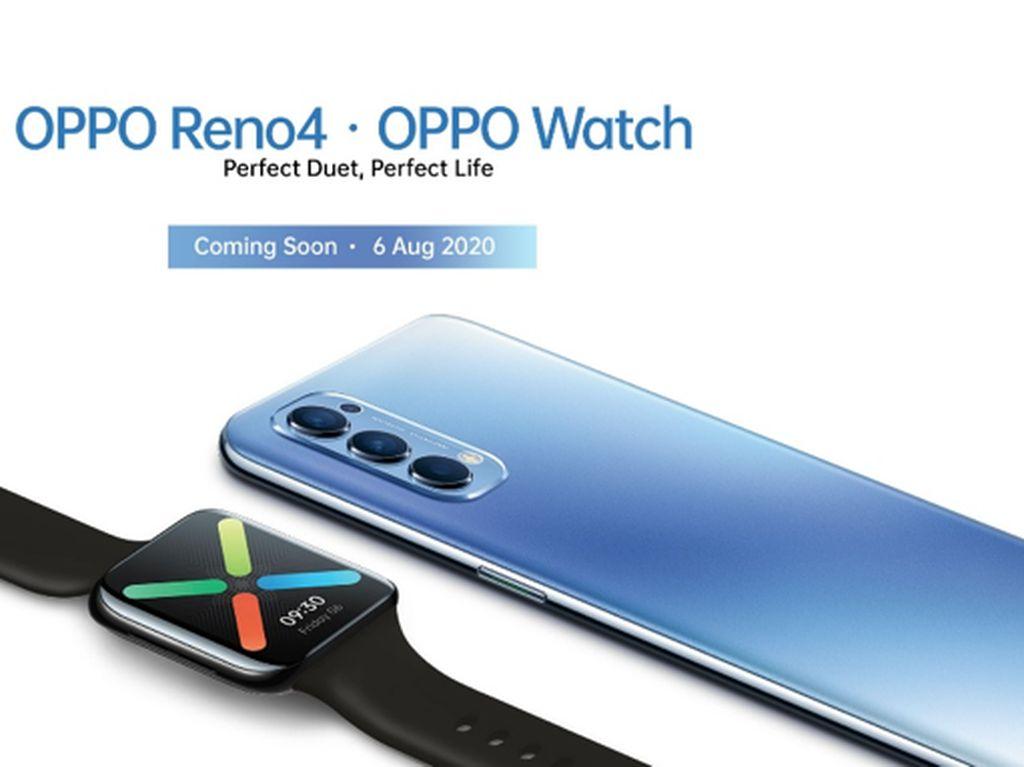 Buat Gaya Makin Trendy dengan Kombinasi OPPO Reno4 & OPPO Watch
