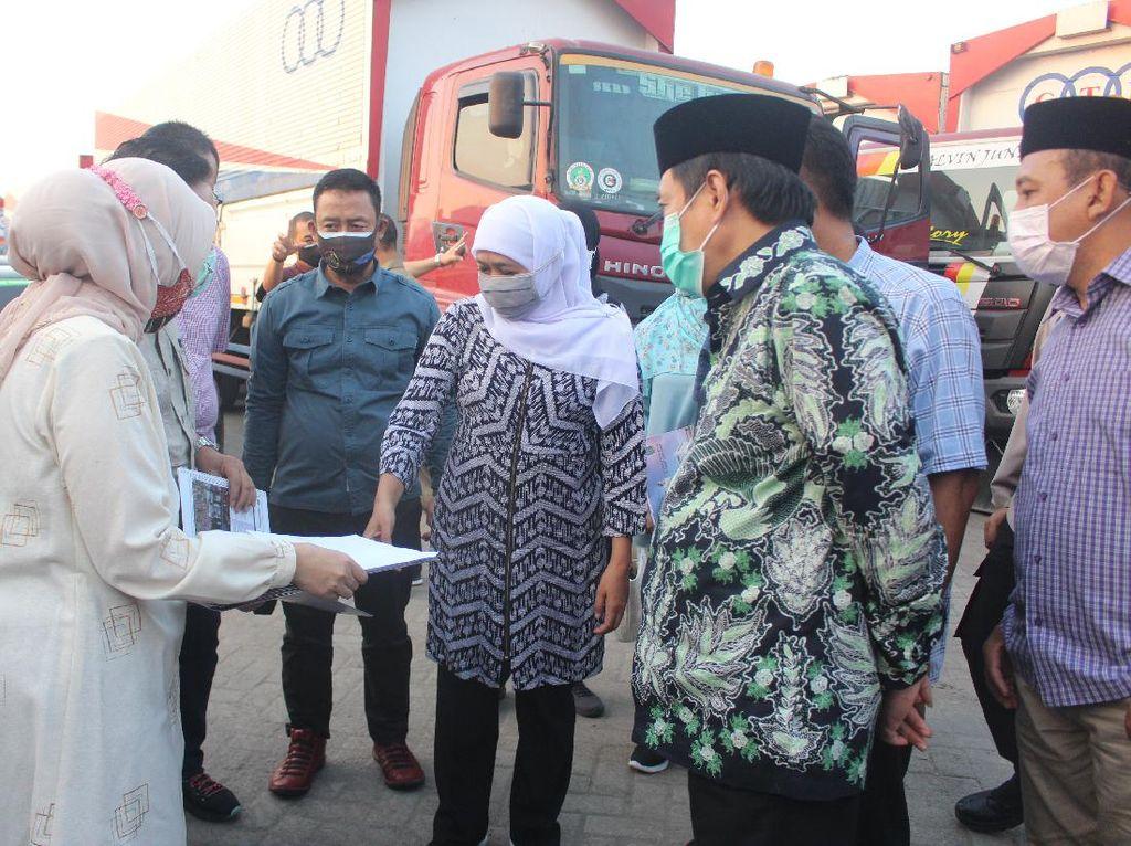 Pasar Induk Puspa Agro di Sidoarjo akan Dibangun Akses Tol