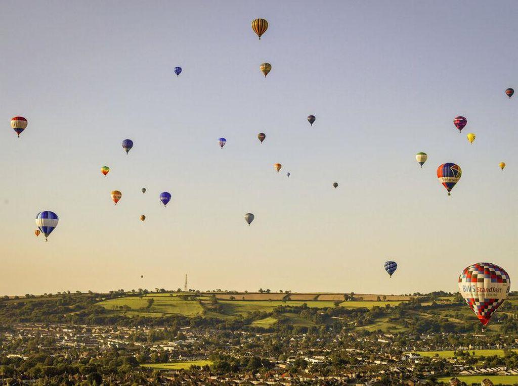 Festival Balon Udara Bristol Digelar Saat Pandemi