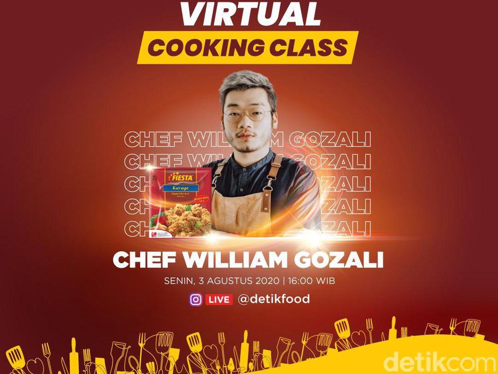 Yuk, Bikin Fiesta Karage Wrap Bareng Chef William Gozali!