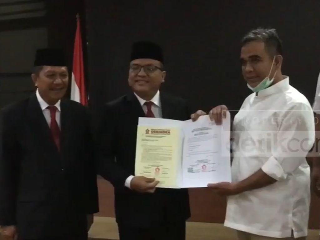 Denny Indrayana jadi Cagub Kalsel Pilihan Prabowo