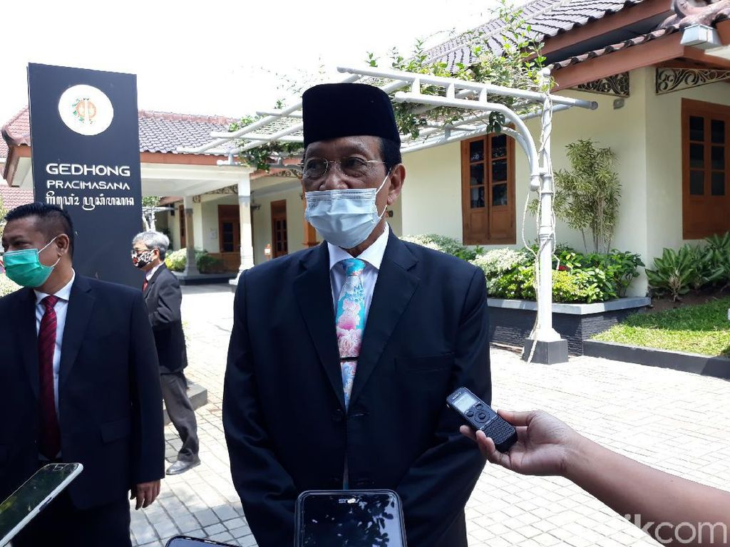 Kasus Positif COVID-19 di DIY Meroket, Sultan Ingatkan Soal Disiplin