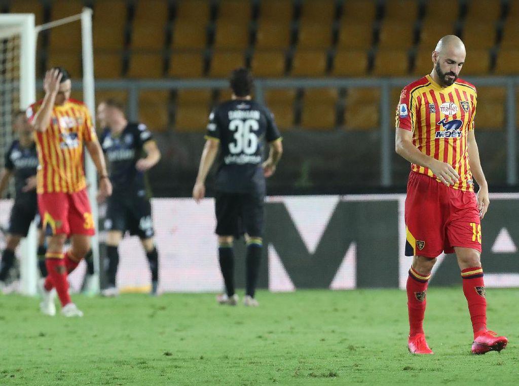 Lecce Tim Serie A Terakhir yang Terdegradasi