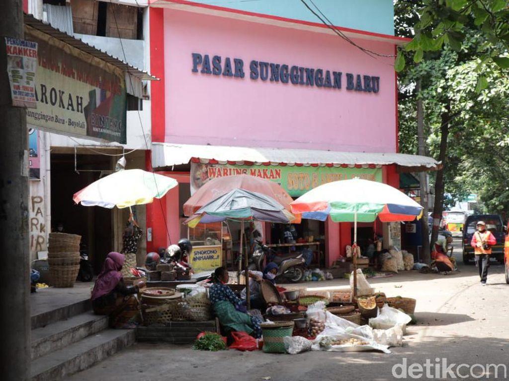 1 Pedagang Positif COVID, Pasar Sunggingan Boyolali Ditutup 3 Hari