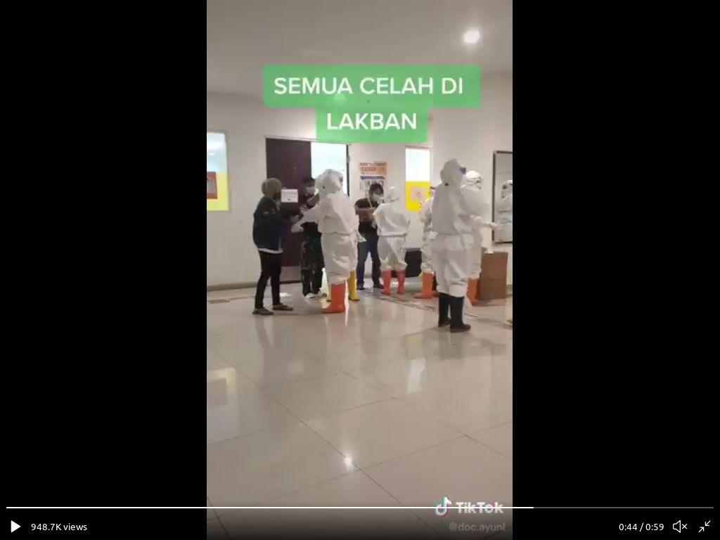 Dokter Siap-siap di Wisma Atlet Viral di Tengah Kontroversi Video Anji