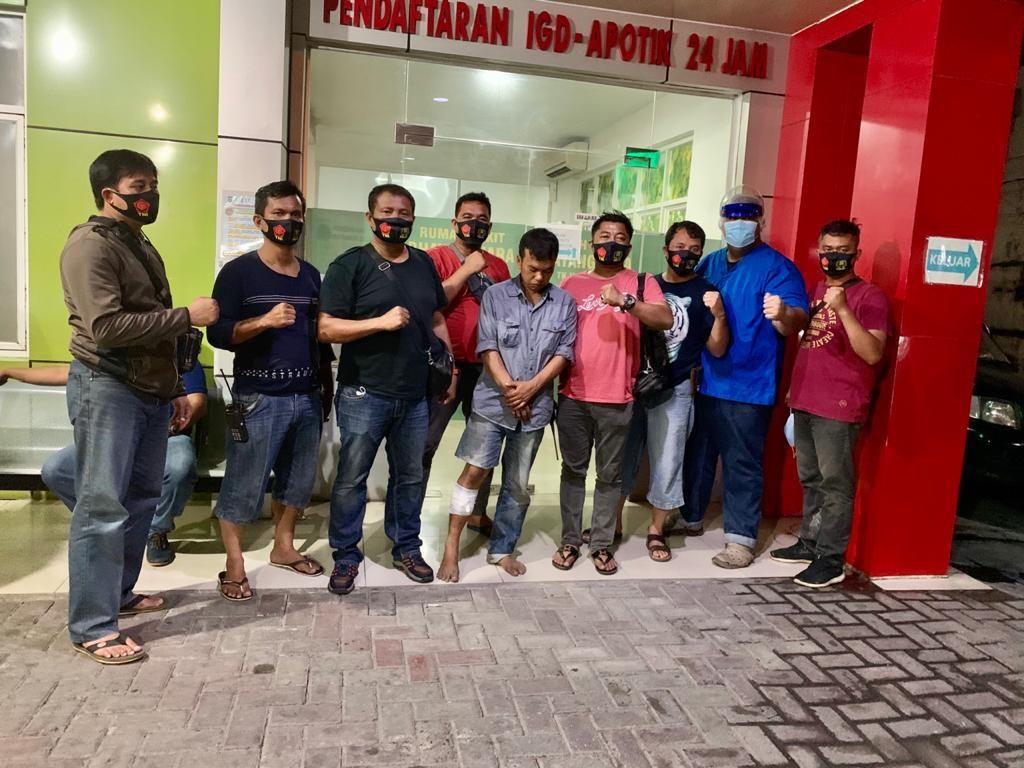 Curi Emas 50 Gram dari Rumah Warga, Pria di Medan Ditembak Polisi