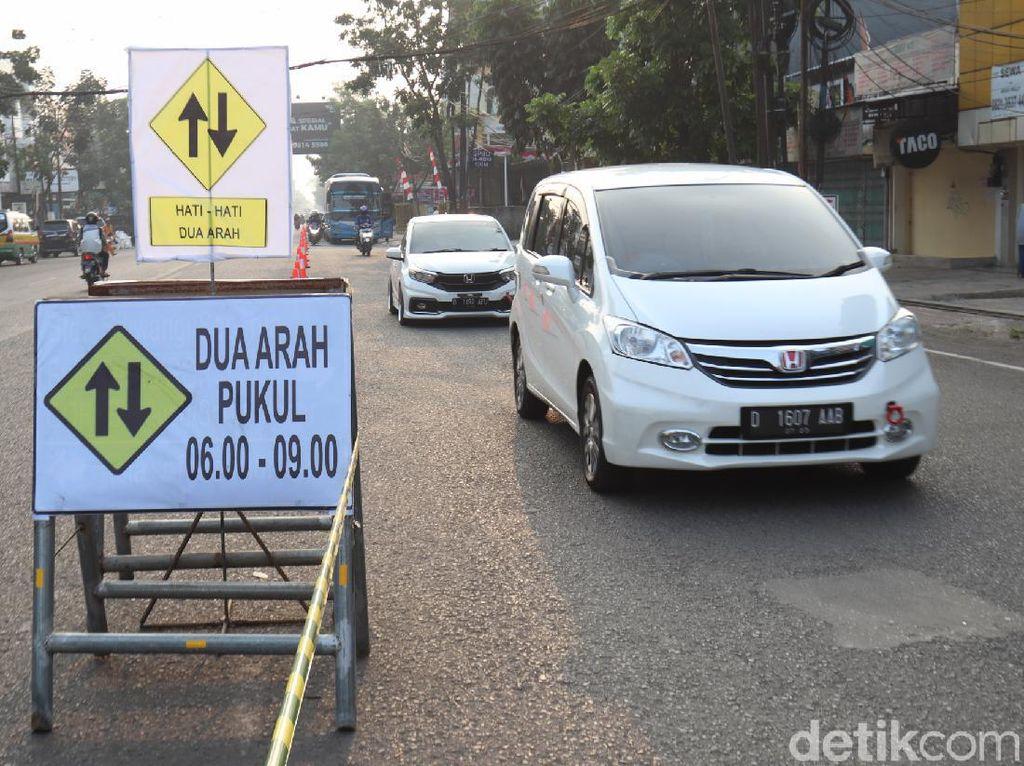 Proyek Fly Over di Jalan Jakarta, Rekayasa Lalin Terpantau Lancar