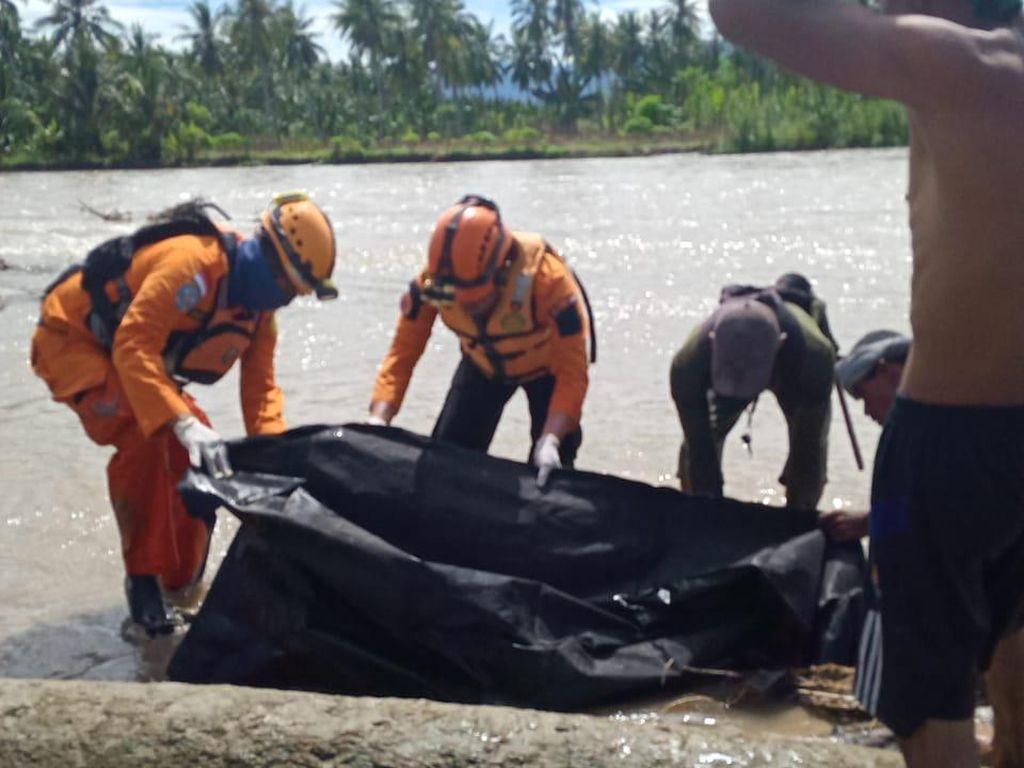 Kakek di Sigi Sulteng yang Hilang di Sungai Ditemukan Tewas