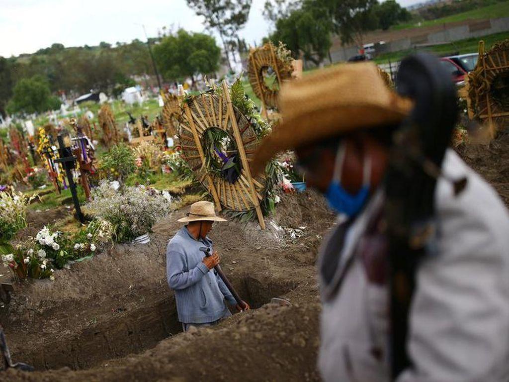 Lebih dari 50 Ribu Orang Meninggal Akibat Virus Corona di Meksiko