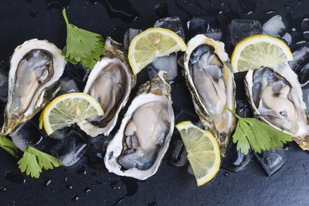 kadar zinc dan mineral dalam oysters sangat penting untuk sistem kekebalan tubuh dan suasana hati.