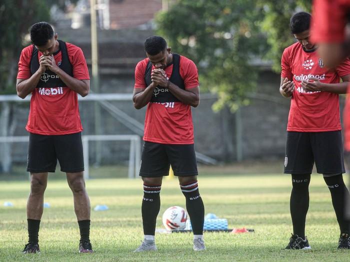 Bali United berlatih lagi di Legian, Senin (3/8/2020).