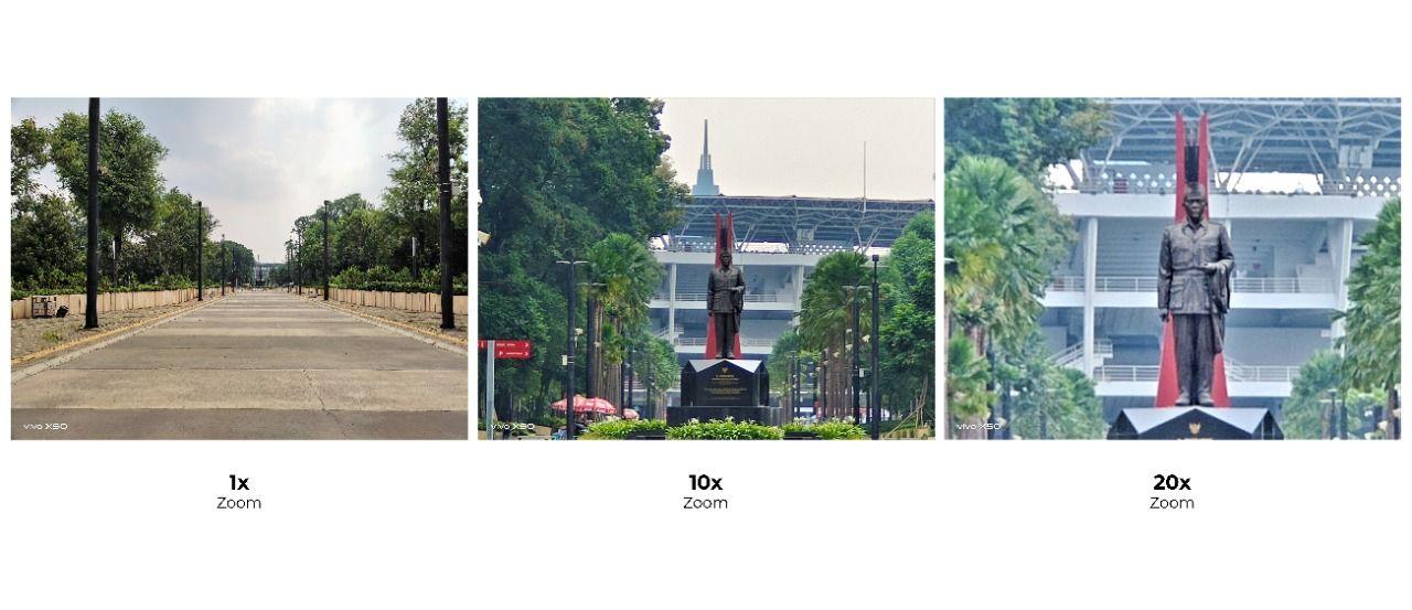 Hasil kamera Vivo X50
