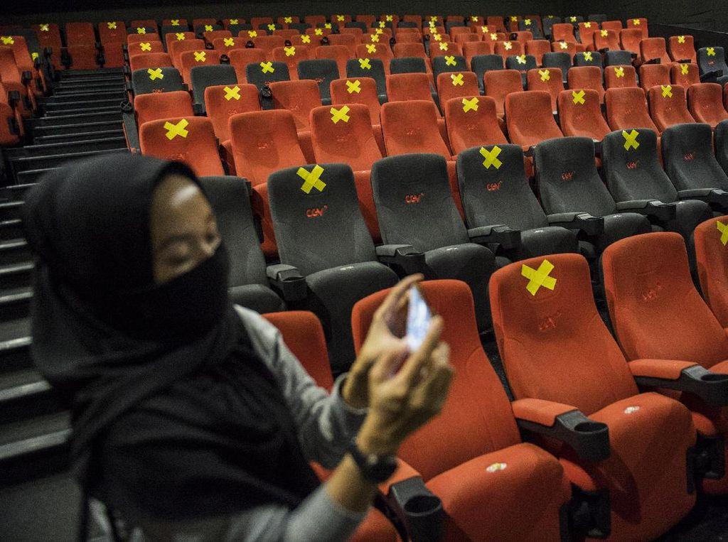 Tunggu Izin, Bioskop Siap Buka 10 September