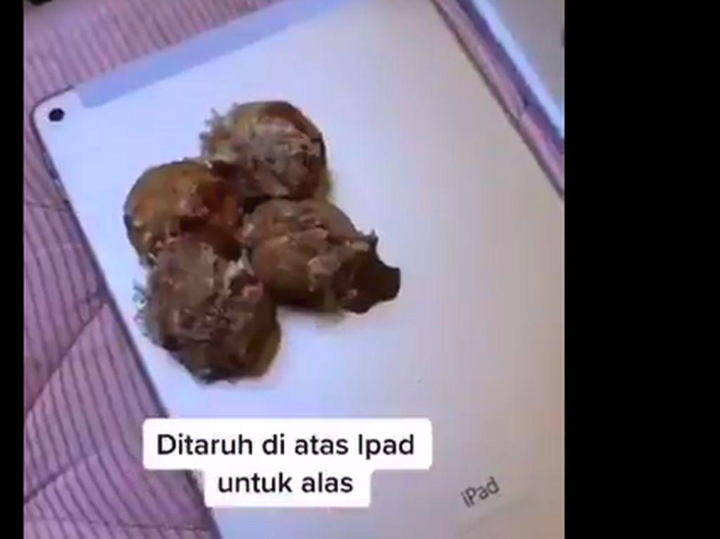 Viral iPad Jadi Piring Makan, Dokter: Bisa Lebih Jorok dari Dudukan WC