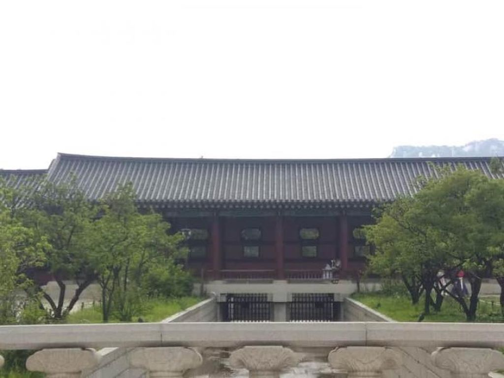 Pesona Keindahan Istana Gyeongbokgung Korea Selatan