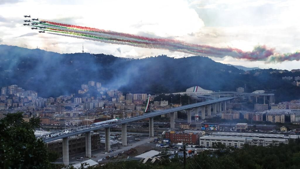 Peresmian Jembatan Baru Italia yang Pernah Runtuh