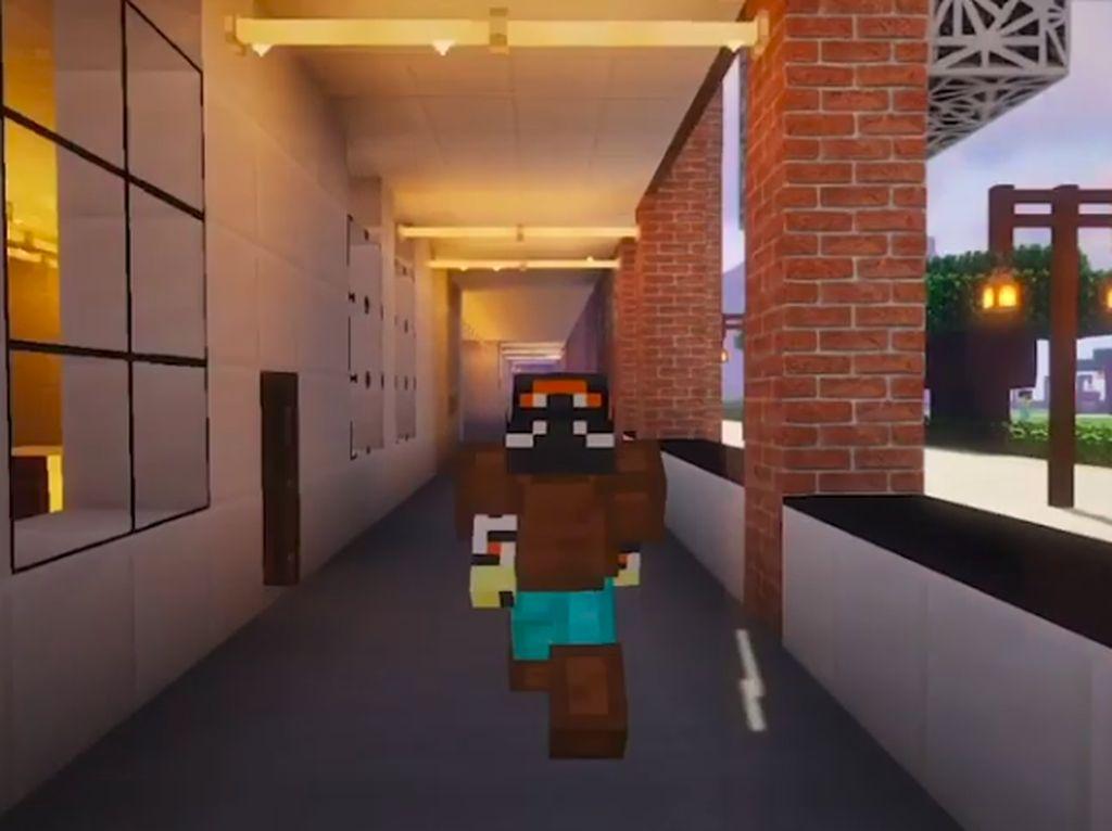 Rindu Kuliah, Mahasiswa Ini Bikin Kampus Versi Minecraft