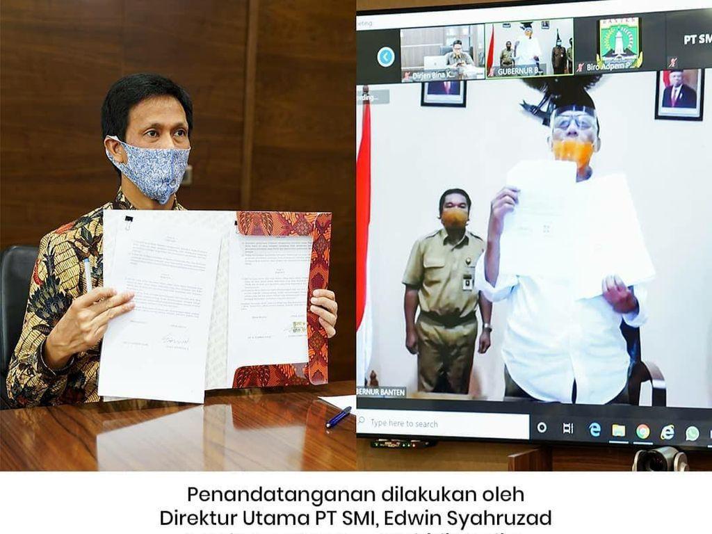 Pemprov Banten Dapat Pinjaman Rp 4,1 Triliun dari PT SMI