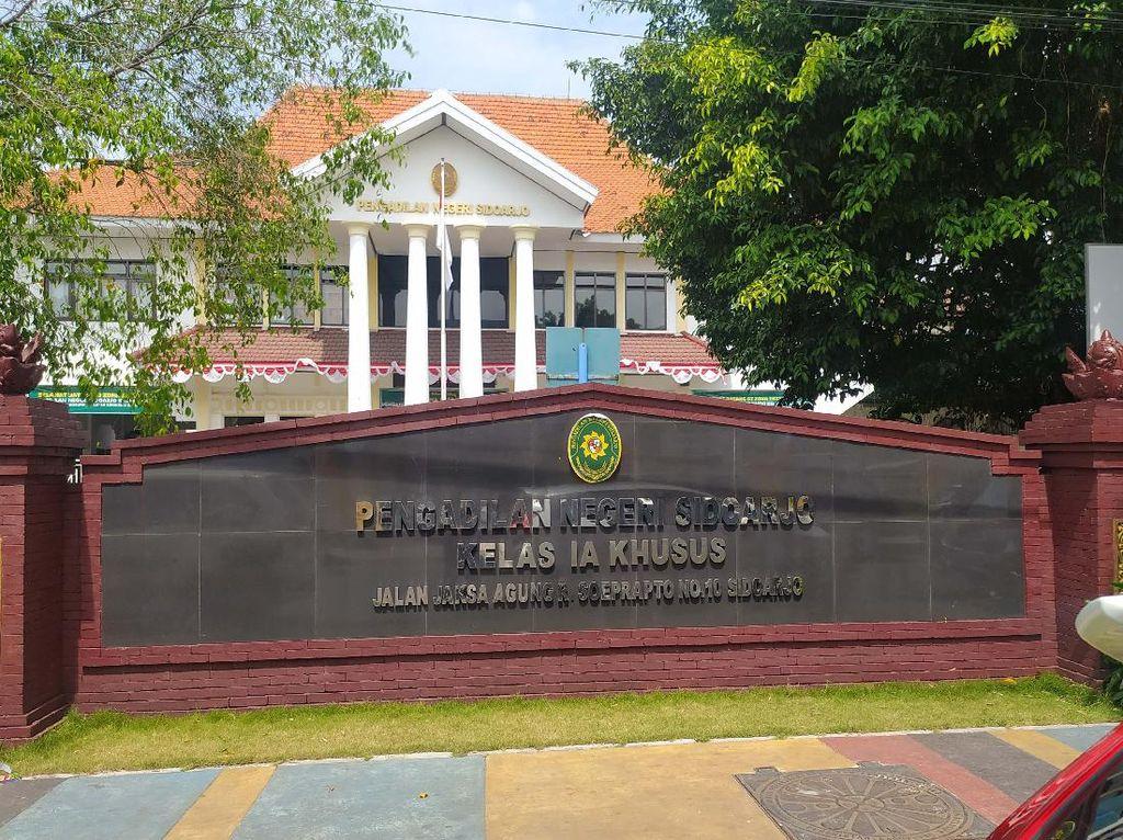 Dampak 1 Hakim PN Sidoarjo Positif COVID -19, Beberapa Sidang Terpaksa Ditunda
