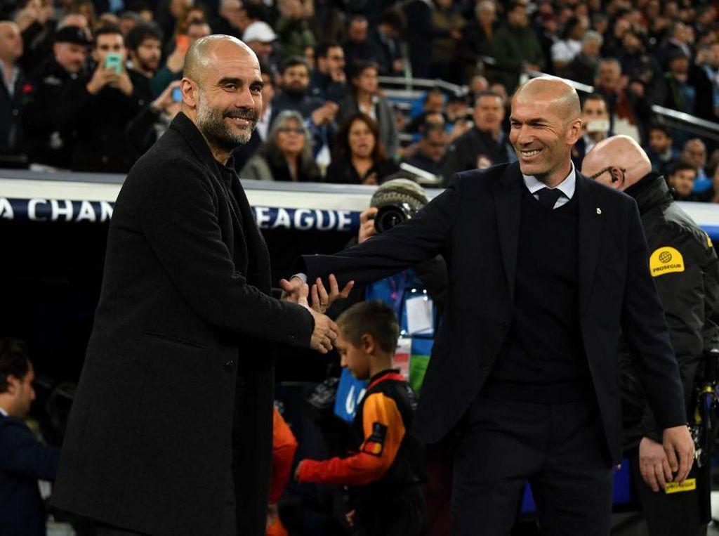 Man City Vs Madrid Mau Duel, Guardiola Malah Puji-puji Zidane