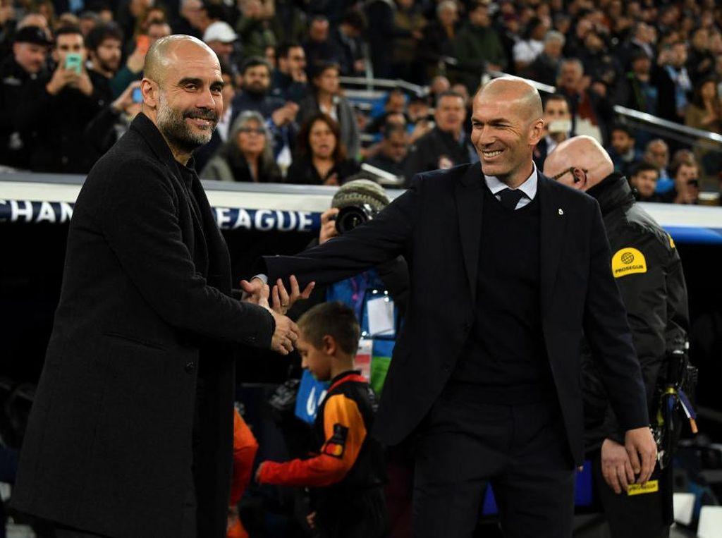 Guardiola: Zidane Sulit Ditebak