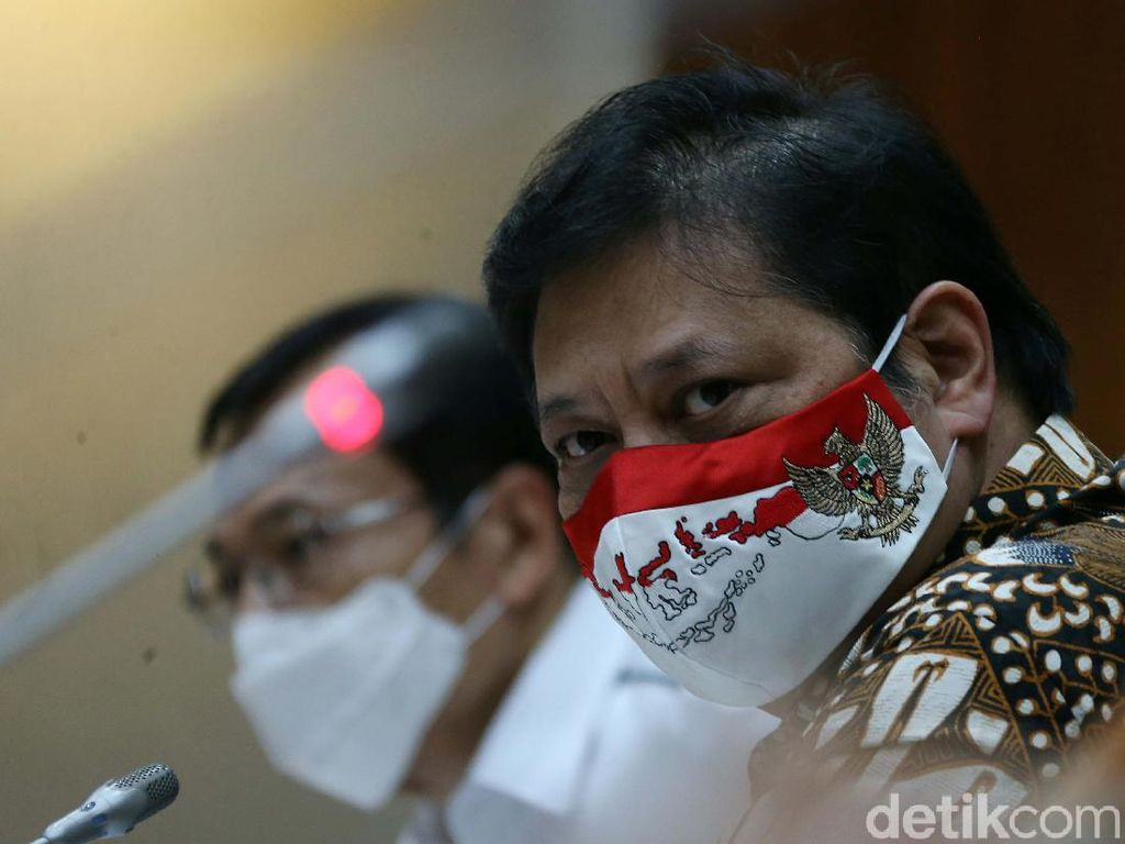 Menko Airlangga: Arahan Jokowi, Jangan Ada Klaster Demo di Tengah Pandemi
