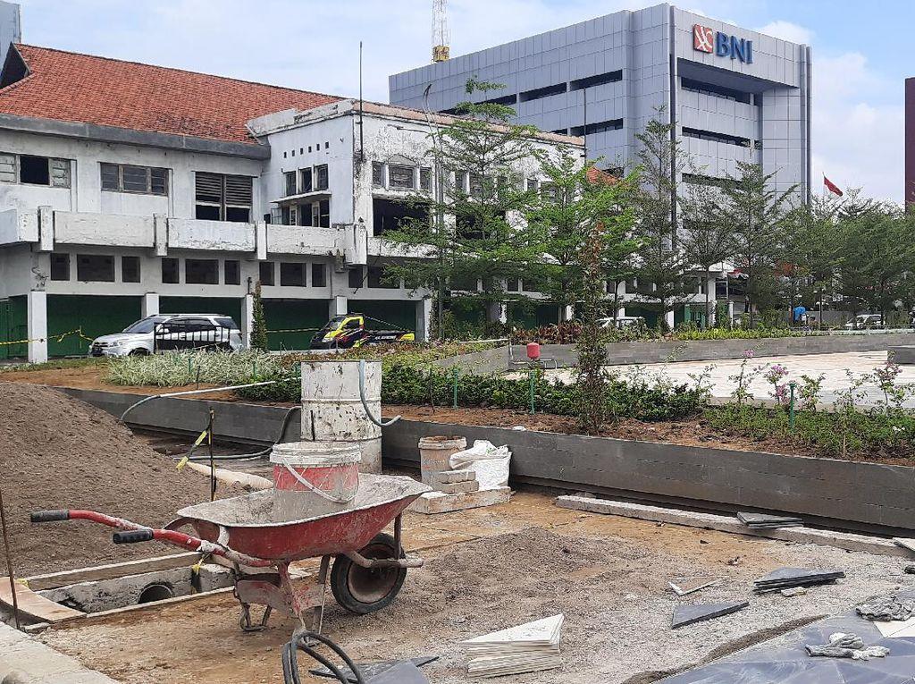 Pembangunan Plaza Alun-Alun Suroboyo Ditarget Rampung Saat HUT RI