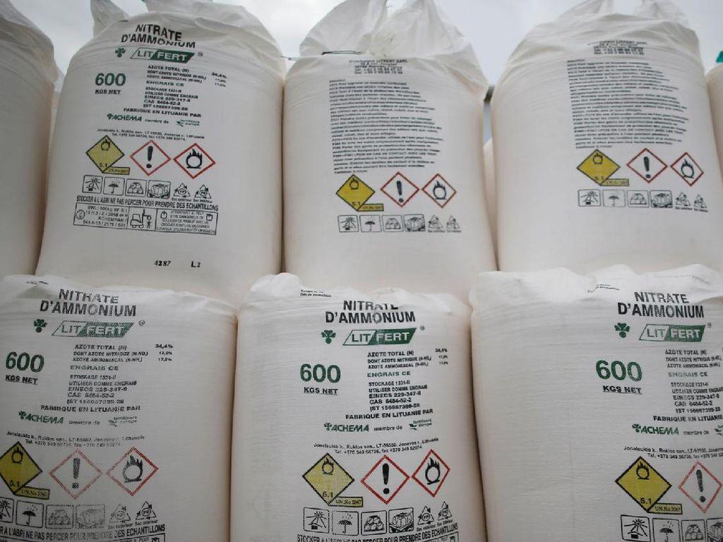 Amonium Nitrat, Terkenal Sedunia Usai Ledakan di Lebanon