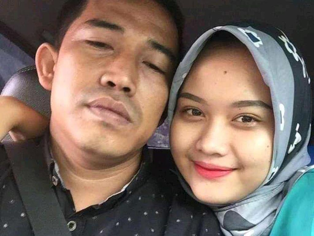 Viral di TikTok Pasangan Beda Usia 18 Tahun, Suaminya Dikira Netizen Bapaknya