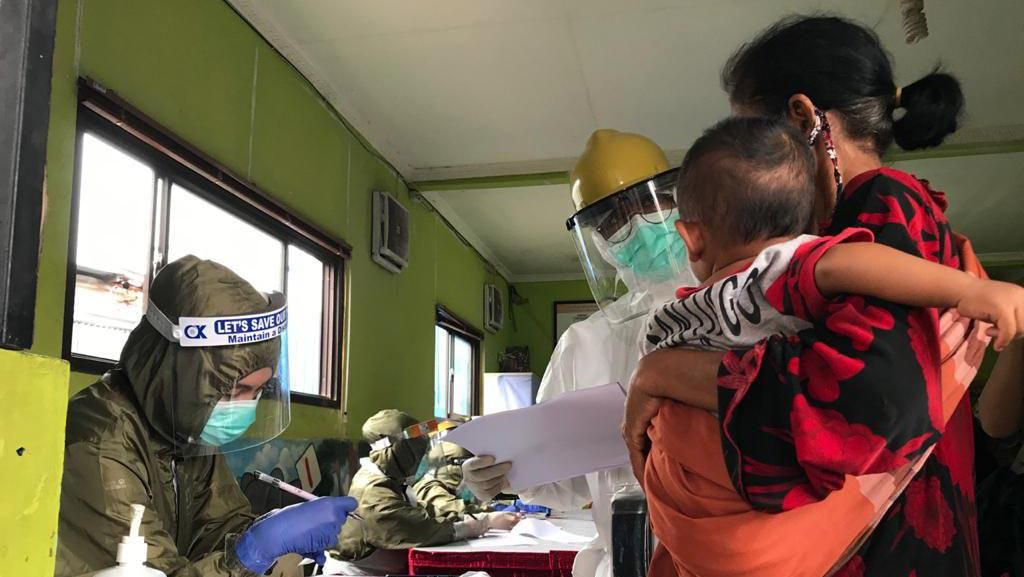 Cegah Penyebaran Virus Corona di Komunitas Pemulung