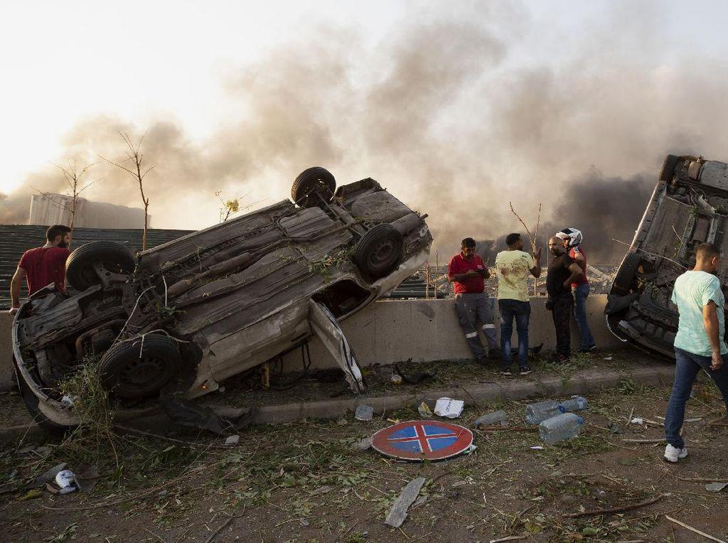 Mobil Hancur Terkena Ledakan Seperti di Lebanon, Di-cover Asuransi Nggak?