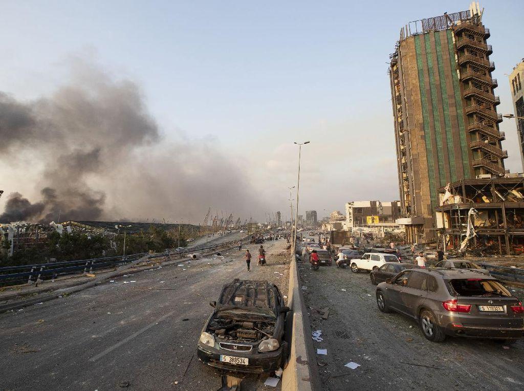 1 Staf Kedubes Jerman Tewas Akibat Ledakan di Lebanon