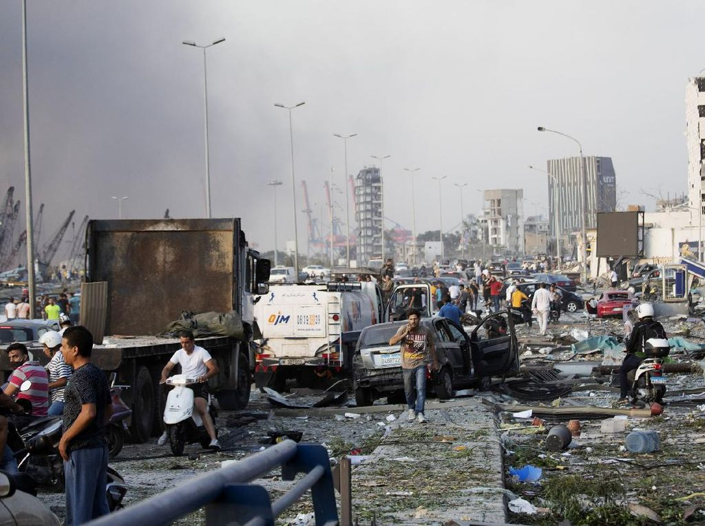 5 Kabar soal Ledakan di Lebanon dari Dubes RI Hajriyanto Thohari