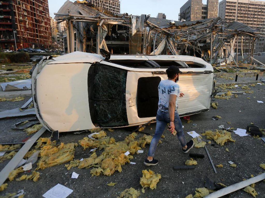 Ledakan di Lebanon, Rusia Kirim 5 Pesawat Bawa Pasokan Medis dan Dokter